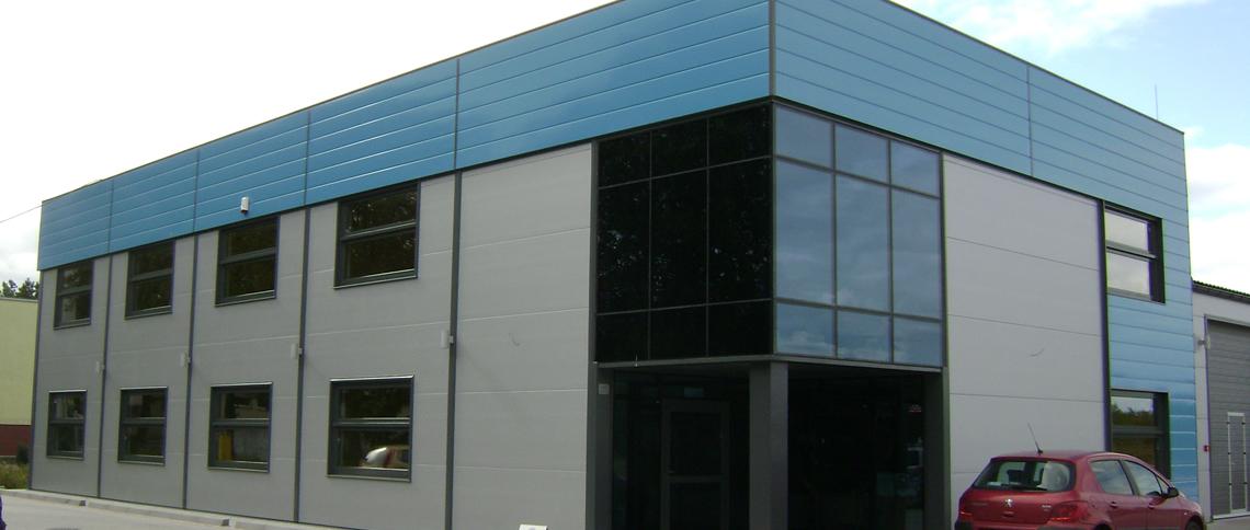 Kompleks biurowo-magazynowo-produkcyjny dla Mölndals Industrieprodukter