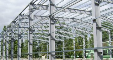 Hala magazynowo-produkcyjna o powierzchni 4500m²