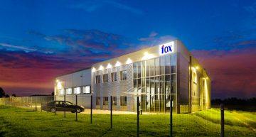 Wykonanie zakładu produkcyjnego dla Fox Fittings