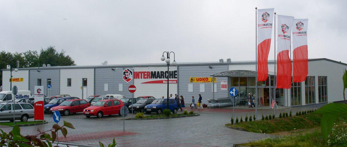 Pawilon handlowy dla Intermarché Polska