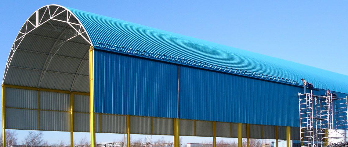 Budowa hali magazynowej dla Saint Gobain Isover