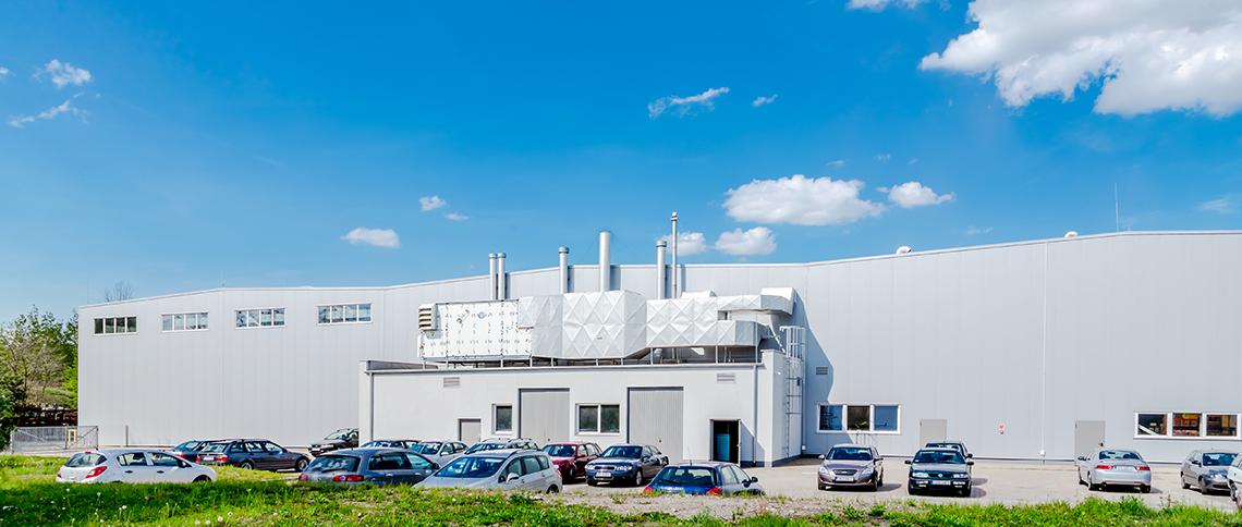 Budowa hali produkcyjnej dla ENVO sp. z o.o.