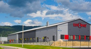 Budowa hali produkcyjno-serwisowej dla Euro-Wind