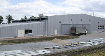 Hala produkcyjna o powierzchni 3500m²