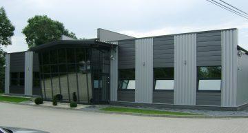 Hala produkcyjna z częścią biurową