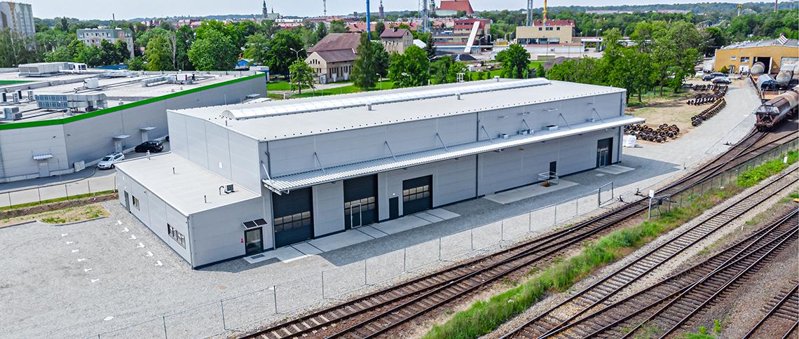 Hala produkcyjna dla Franz Kaminski Waggonbau Polska