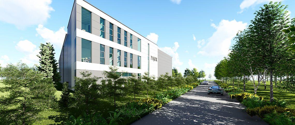 Nowa siedziba firmy PAJOR TECHNOLOGY sp. z o. o.